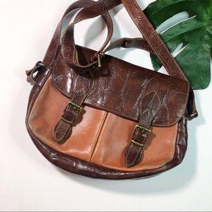Furla Vintage Leather Crossbody